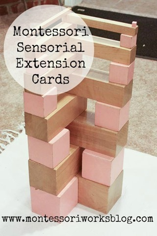 Sensorial Extensions | montessori works