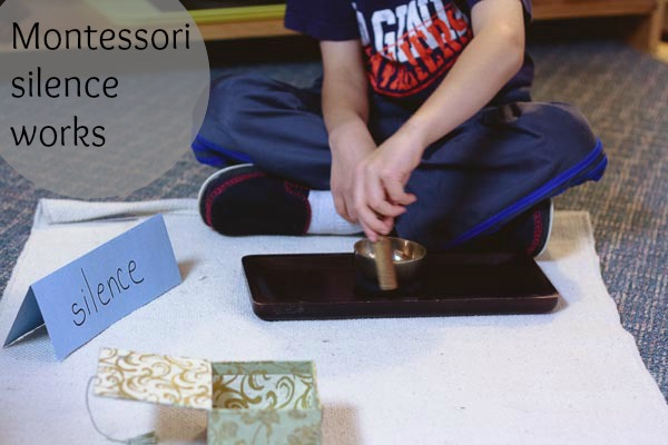 montessori silence works from montessori works