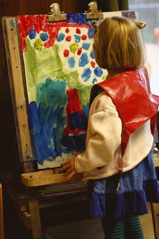Painting At The Easel This Practical Life
